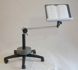 Book Holder Workstation