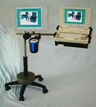 Boom Arm workstation with options.
