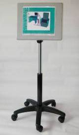 Short Arm Flatscreen display stand side view